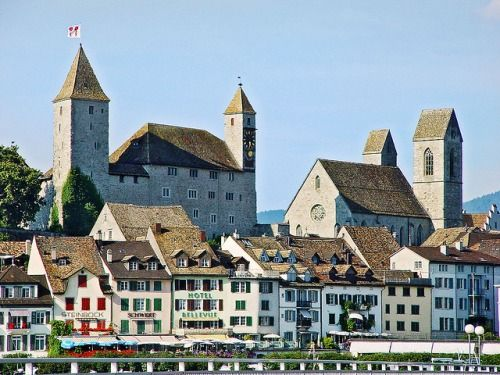 Castle of Rapperswil - Lake Zurich | by Tambako