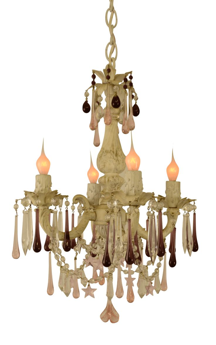 115 best bevolo collection images on pinterest blue dining vintage italian chandelier with colored crystal drops arubaitofo Gallery