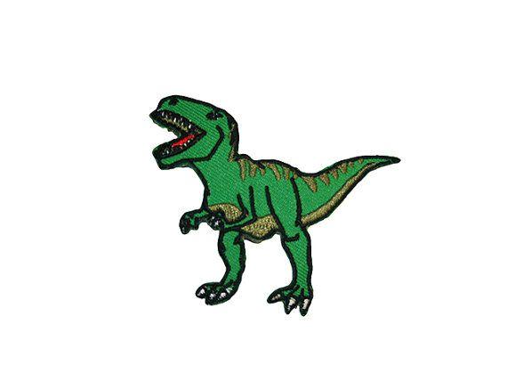 Tyrannosaurus Rex Eisen auf Patch Sticken von ExtremeLargeness