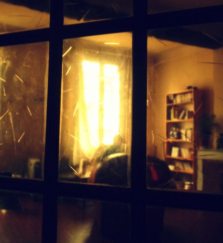36 Rue Mignet. Porte vitrée.