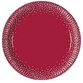 George Home Red Dots Plates