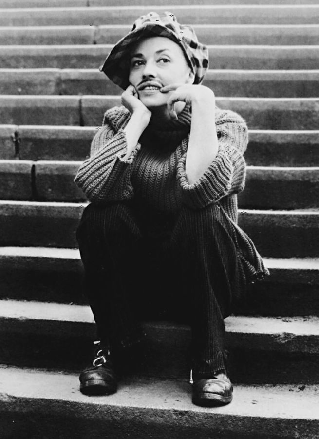 Jeanne Moreau, 1963, photographed during the filming of Jules et Jim