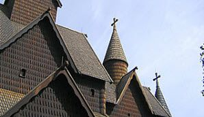25 top places in Norway. Heddal Stave Church in Telemark, Norway - Photo: Heddal Stave Church