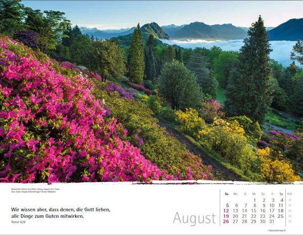 Schweizer Bergkalender Wandkalender 2018 | Bolanz Online