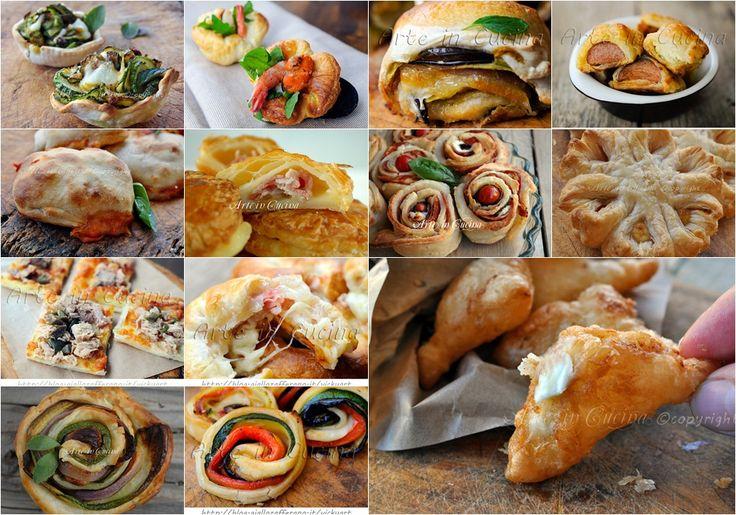 Antipasti con pasta sfoglia ricette facili e veloci vickyart arte in cucina