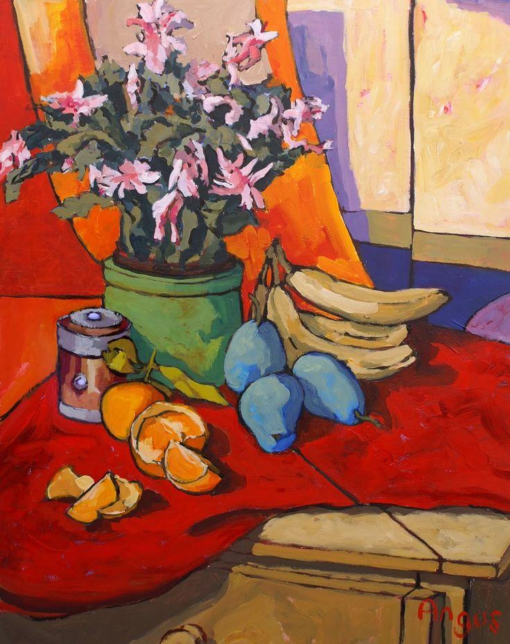 Angus Wilson Studio: Blossoming Cactus