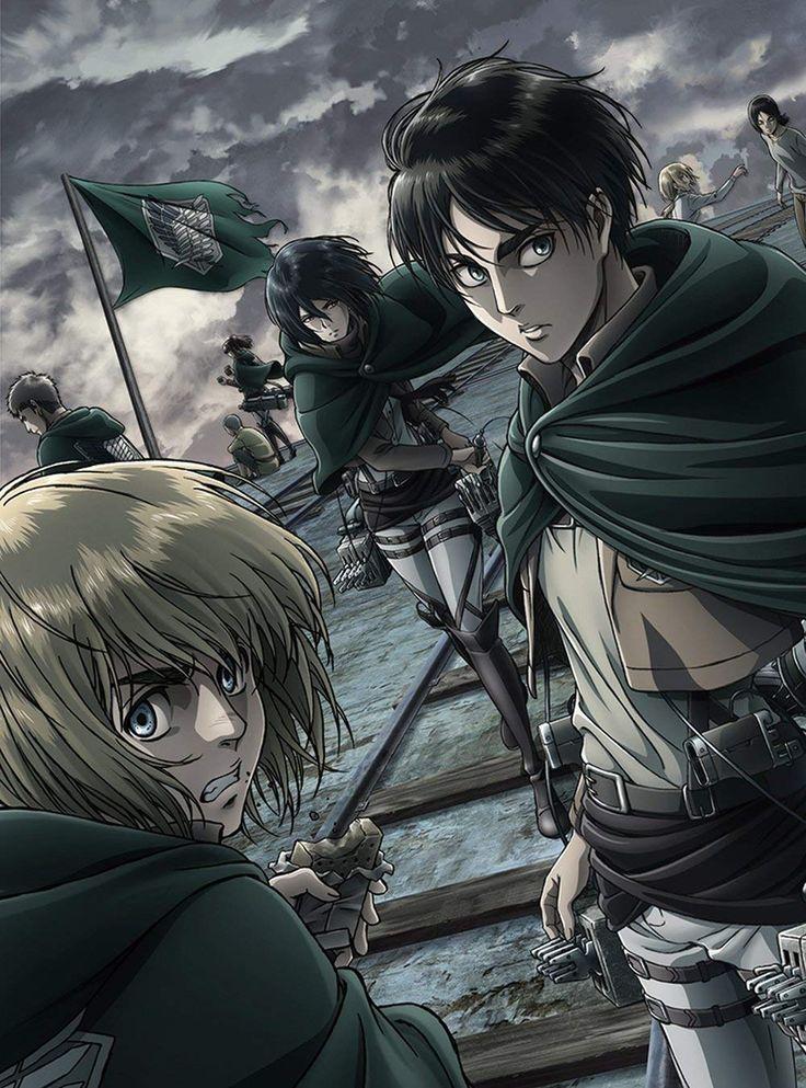 進撃の巨人 / Attack on Titan Attack on titan season, Anime