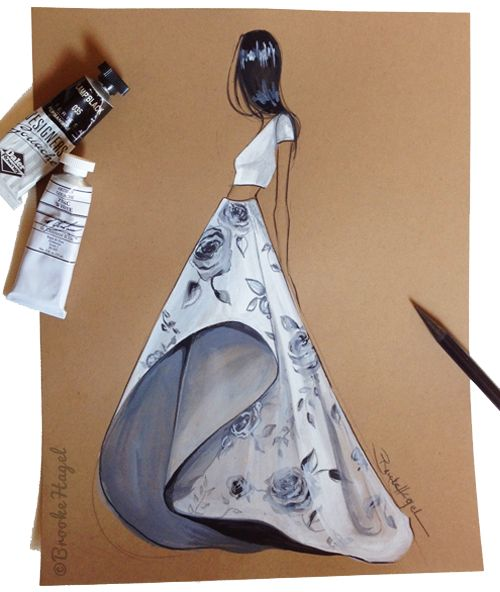 Fabulous Doodles-Fashion Illustration Blog-by Brooke Hagel: Inspired by Gray Gardens