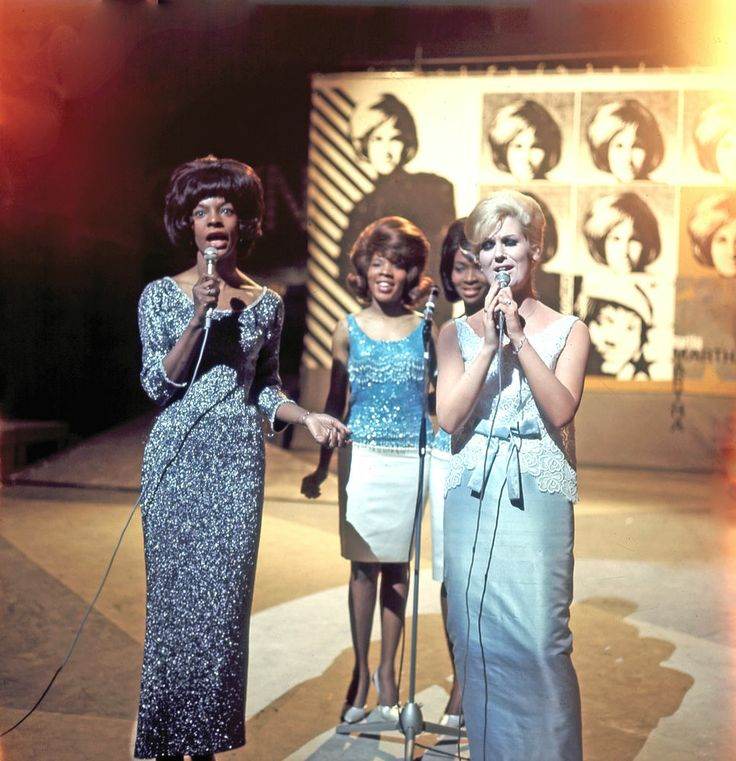 Dusty Springfield / Martha and the Vandellas .....Dusty learned to sing like Martha and the 2 were best of friends.
