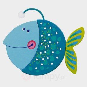Oświetlenie nocne LED Fredi w kształcie rybki