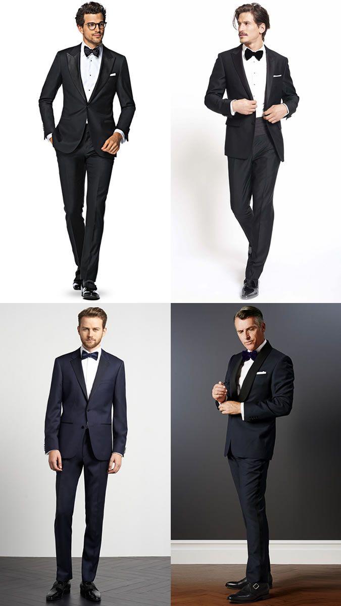 Men's Groomsmen Outfit Inspiration Lookbook - Black Tie