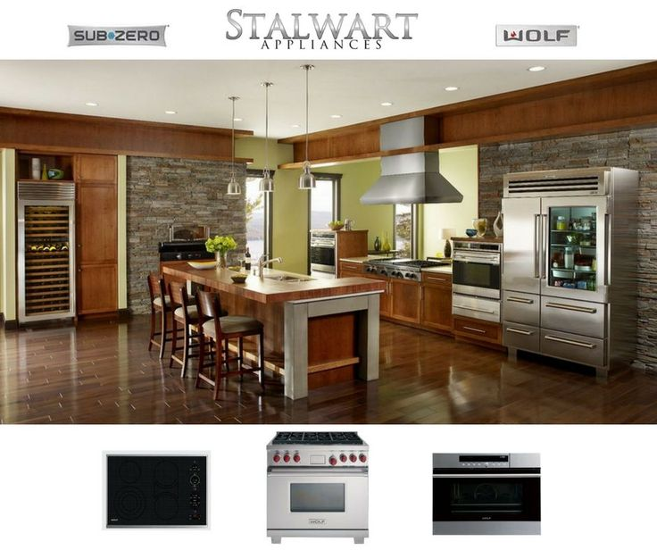 Let there be light in your kitchen! Shop #Subzero & #Wolfappliances and Take your dream Kitchen home for up to $2500 LESS! Click for details