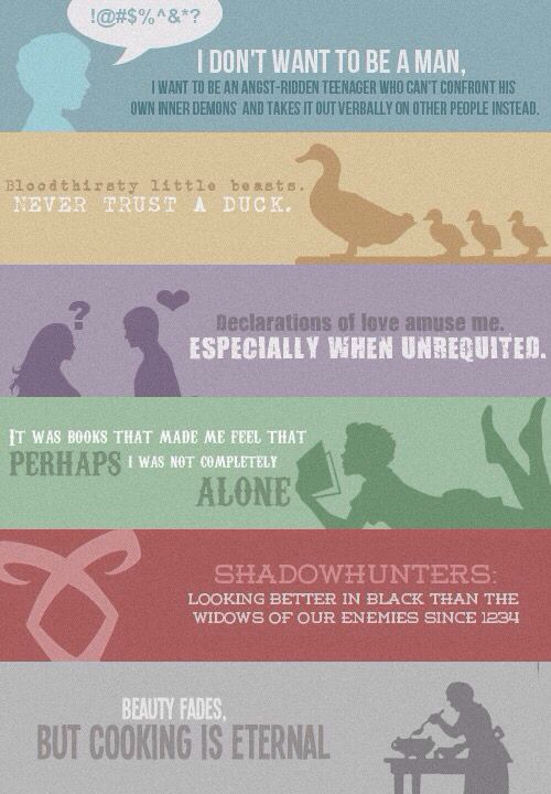 Herondale Quotes TID & TMI The infernal devices and the mortal instruments~ Shadowhunters. love these QUOtES!