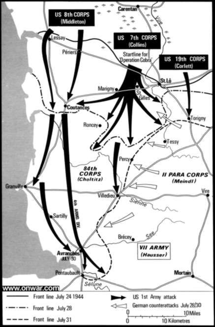 The Plan That Enabled The Allied Forces To Breakout Of Normandy And Advance