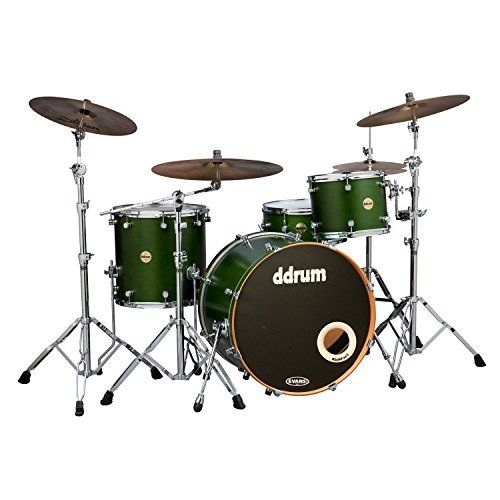 Vinny Appice Master Class, ddrum Paladin Maple Zombie Green 4-Piece Shell Pack Signed And Played by Vinny Appice! #sale #save #vinnyappice #rock #drummer #drum #drumkit #discount #deal