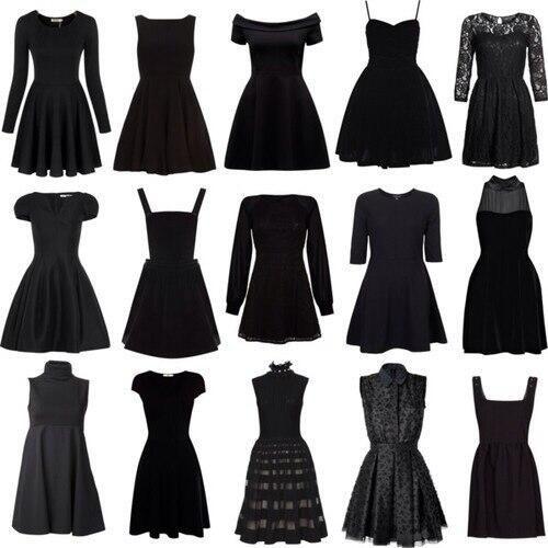25  best ideas about Black dress tumblr on Pinterest | Classic ...