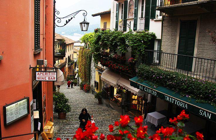Itália - Roteiro de 1 Semana em Milão, Bergamo, Como, Bellagio, Chiavenna na região norte, Lombardia.