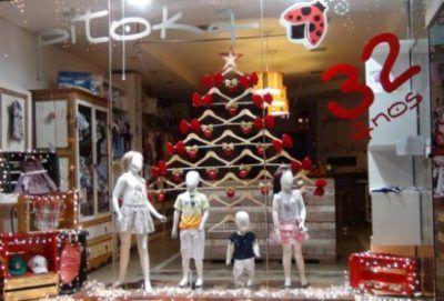 decoração para loja infantil de natal