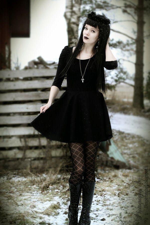 Gothic Queen In Winter