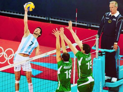Remate Voleibol bloqueo :)