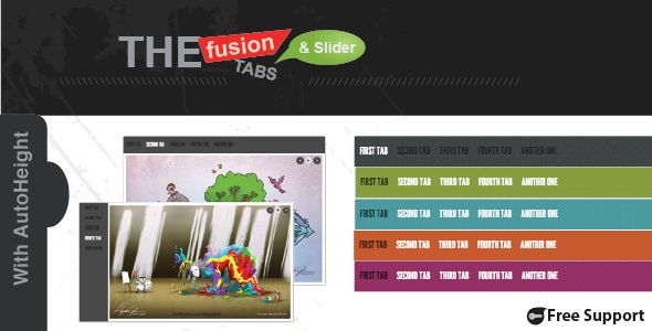 CodeCanyon - The Fusion of Tabs and Slider with jQuery