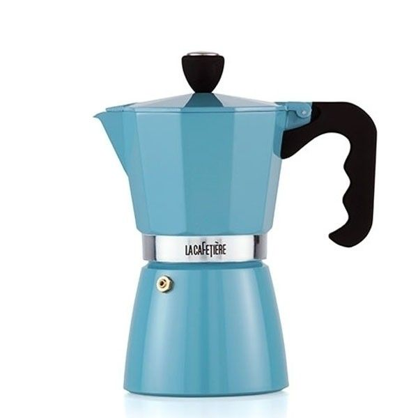 Takie o to piękne nowe kawiarki zagościły w naszym sklepie. Nowe niebieskie kawiarki, które część z Was może kojarzyć też jako: makinetka
