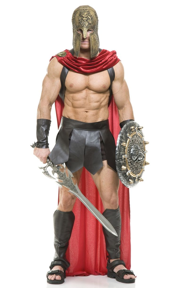 how to make a spartan costume