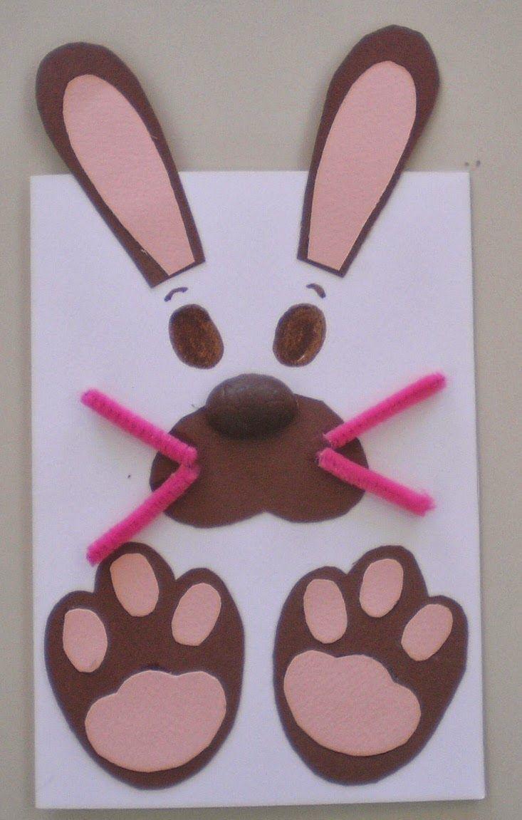 easter bunny craft  |   Crafts and Worksheets for Preschool,Toddler and Kindergarten