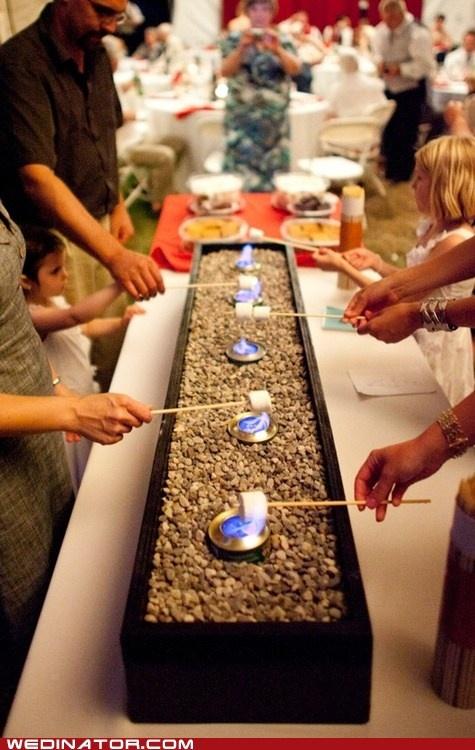 Brilliant Idea, a candy table or a 'Smöres-gåsbord