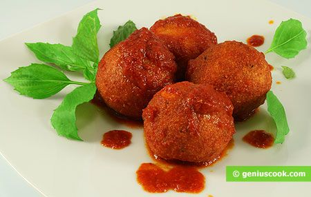 How to Make Cheese Balls in Tomato Sauce | Italian Food Recipes | Genius cook - Healthy Nutrition, Tasty Food, Simple Recipes