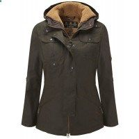 Barbour Ladies Winter Force Parka Jacket - Olive LWX0066OL71 - Ladies Jackets and Coats - WOMEN | Country Attire