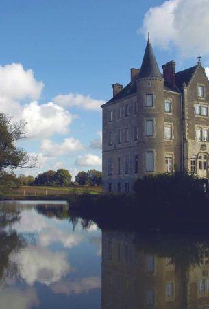 Chateau de la Motte,Husson, Pays de la Loire, France
