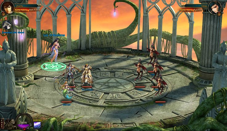"""LEAGUE OF ANGELS: tired of the """"legends""""? Try with the angels! Isometric 3d RPG via browser"""