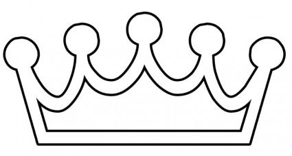 Free Princess Crown Template | Tattoo Design Bild