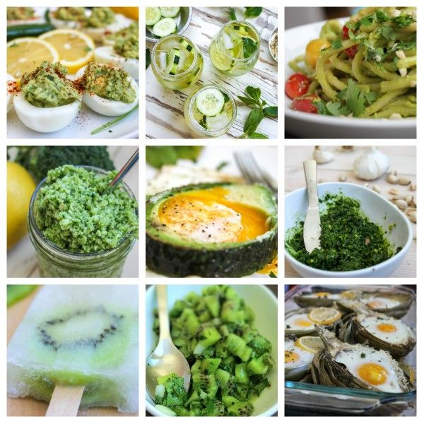 9 Healthy Eats & Drinks for St. Patrick's Day: St. Patrick's Day is tomorrow (you knew that, right?) and most parties are going to be swarming with unhealthy and overly-dyed processed foods. That's not necessarily a bad thing. But why not have some healthy stuff too? These nine dishes are super flavorful, all natural, and pretty darn good for ya.