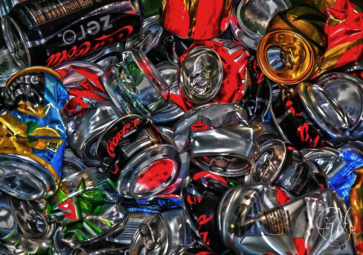 Cans! One Man's Garbage is Another Man's Art   Flickr - Photo Sharing!