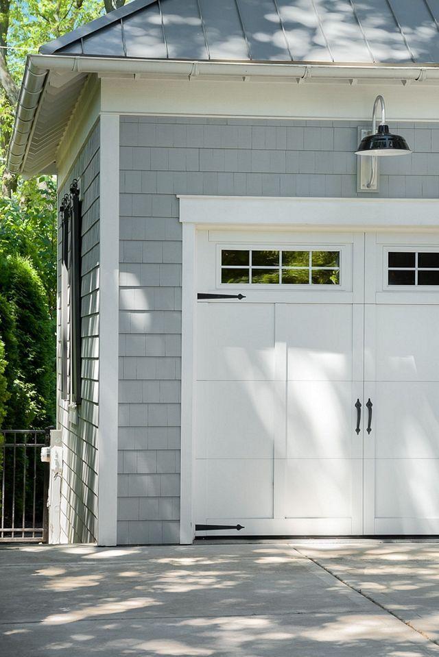 37 Garage Door Trim Ideas To Improve Your Exterior