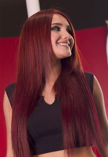 Volcanic Red (Garnier 100% 645/666) Hair Color (Dulce Maria)