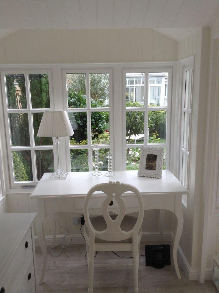 My lovely Scumble Goosie Gustavian Desk and Rosen chair, from Scumble Goosie near Stroud.