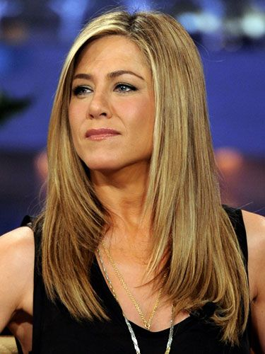 Long hair: Jennifer Aniston - If you have healthy-looking, shiny hair and delicate features, you can pull off Aniston's straightforward, girl-next-door cut. Keep it a few steps above boring with a side part, and frame your face with angling that starts just above the shoulder. - Redbook