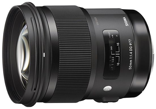 The new Sigma 50mm f/1.4 DG HSM Art lens is here