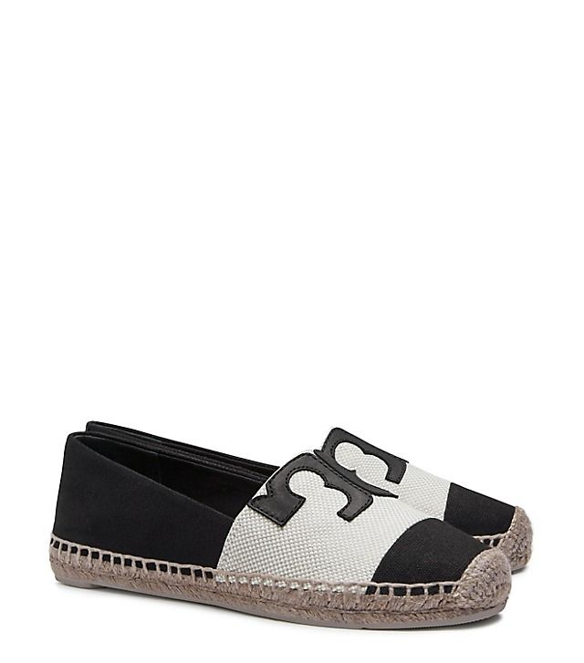Our Veranda Espadrille is a color-blocked take on a tomboyish beach shoe.  Its design is punctuated by an oversized 'T,' giving the pair added graphic  ...