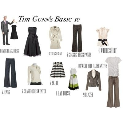 Tim gunn fashion essentials
