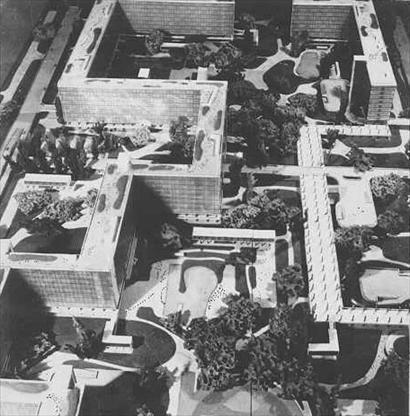 Le Corbusier - Projet - Ville Radieuse