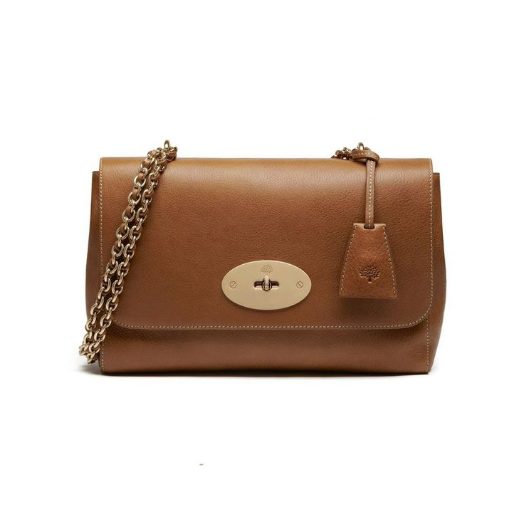 Mulberry - Medium Lily in Oak Natural Leather