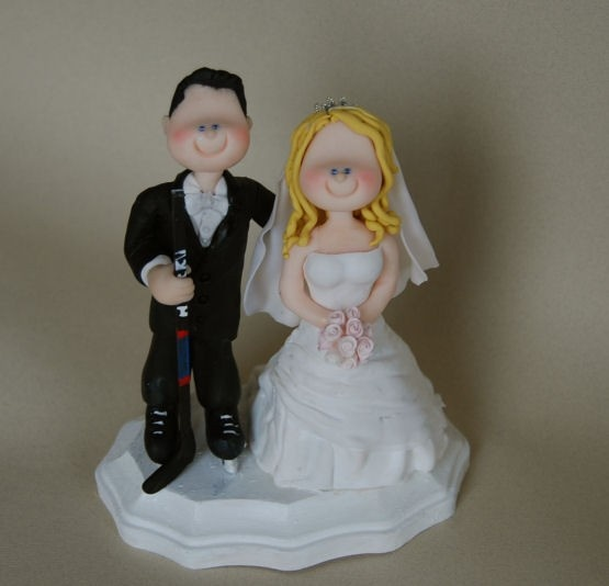 custom hockey wedding cake toppers 94 best hockey images on chicago blackhawks 13202
