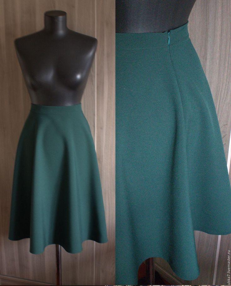 Купить Юбка полусолце миди - юбки, юбка, женская одежда, юбка полусолнце, юбка…