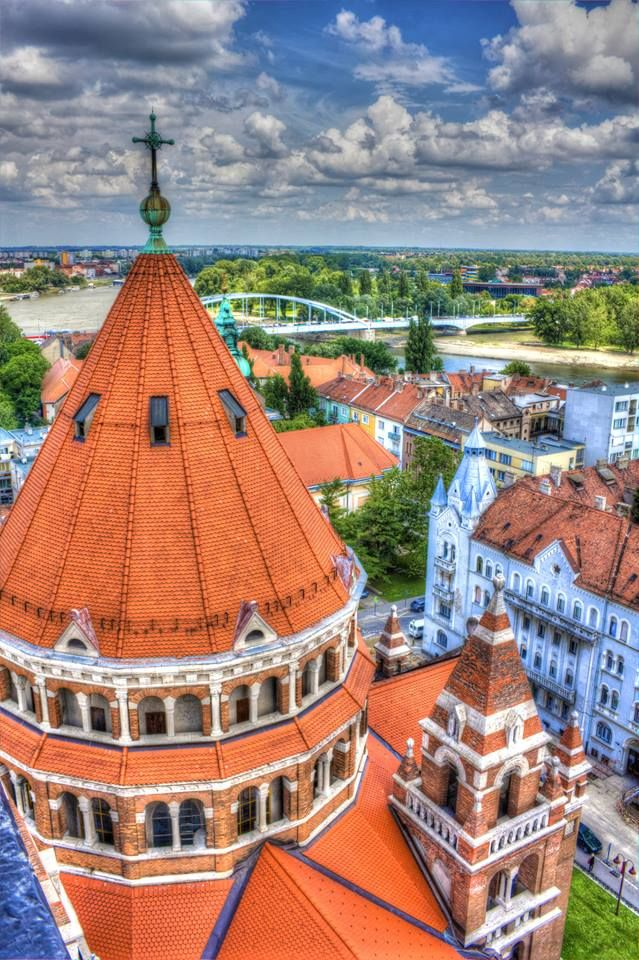 Szeged, Hungary.   Go to www.YourTravelVideos.com or just click on photo for home videos and much more on sites like this.