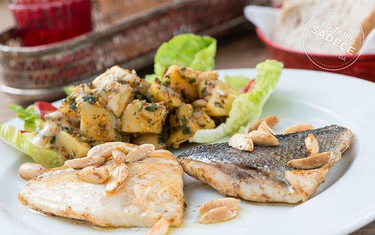 Naif İstanbul'dan Bademli Çipura ve Patates Salatası Tarifi