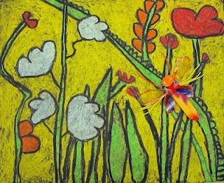 """2nd grade-Nature close-ups- """"In the Tall, Tall Grass"""""""